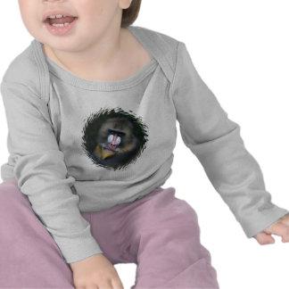 Enredadera del niño de la cara del babuino camiseta