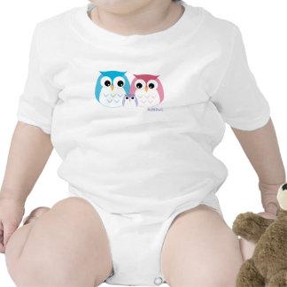 Enredadera del niño de la familia de MiNiOwL Camiseta