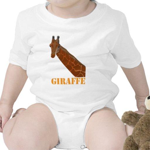 Enredadera del niño de la jirafa traje de bebé