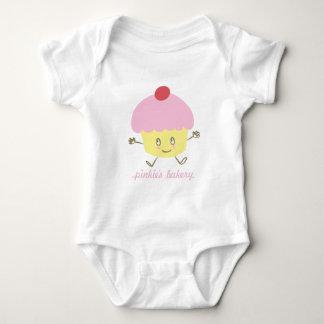 Enredadera del niño de la magdalena de la body para bebé