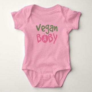Enredadera del niño de la niña del vegano remera