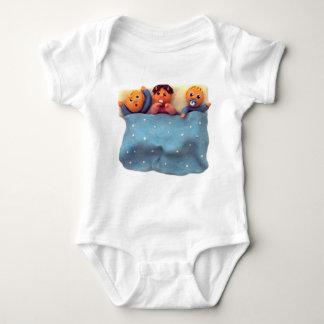 Enredadera del niño de las buenas noches body para bebé