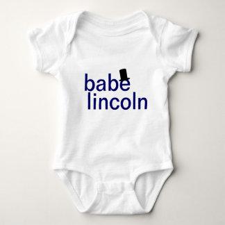 Enredadera del niño de Lincoln del bebé Tee Shirts