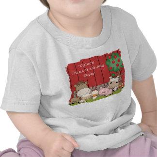 Enredadera del niño de los compinches del corral camiseta
