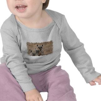 Enredadera del niño de los Hyenas Camiseta