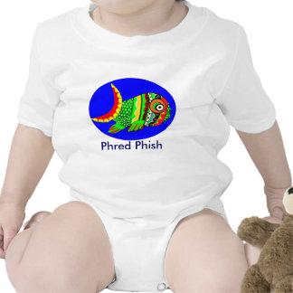 Enredadera del niño de Phred Phish Trajes De Bebé