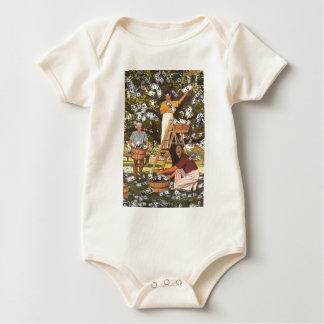 Enredadera del niño del árbol del dinero body para bebé