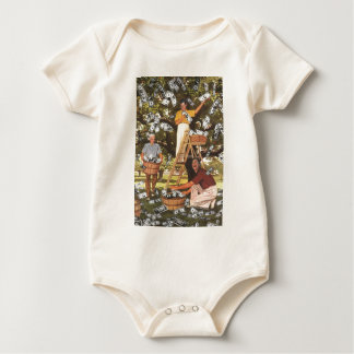 Enredadera del niño del árbol del dinero mamelucos de bebé