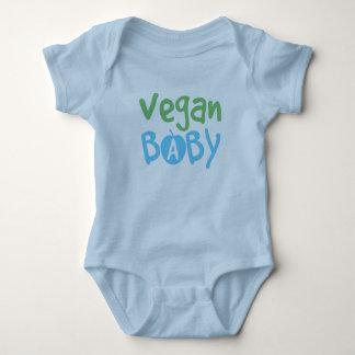 Enredadera del niño del bebé del vegano mameluco de bebé