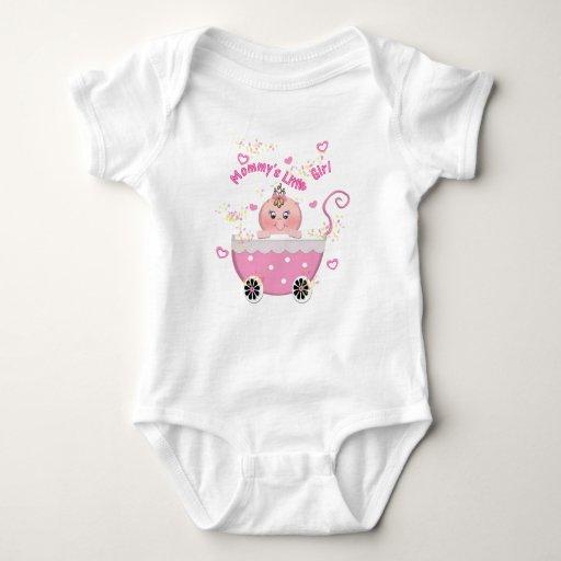 Enredadera del niño del cochecito del rosa de la body para bebé