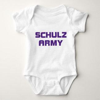 Enredadera del niño del ejército de Schulz Tshirts