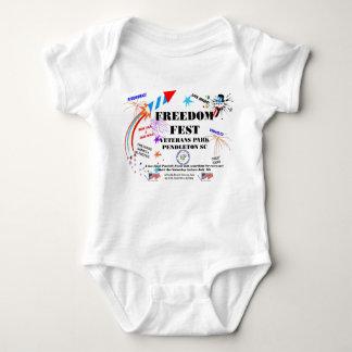 Enredadera del niño del Fest de la libertad Poleras