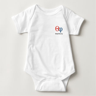 enredadera del niño del logotipo de theophiles.org poleras