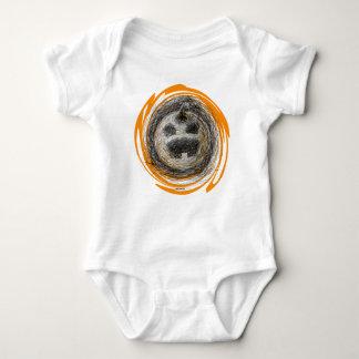 Enredadera del niño del muchacho de la calabaza body para bebé