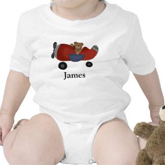 Enredadera del niño del peluche del aeroplano trajes de bebé