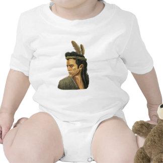 Enredadera del niño del retrato del guerrero del traje de bebé