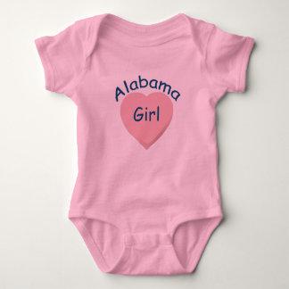 Enredadera del niño del rosa del chica de Alabama Remeras