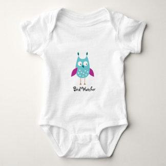 Enredadera del niño del vigilante de pájaro body para bebé