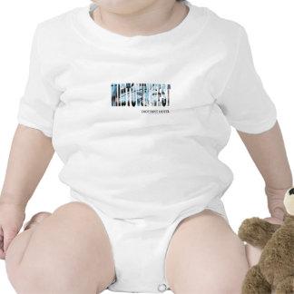 Enredadera del oeste del Midtown infantil Traje De Bebé