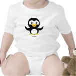 Enredadera del pingüino traje de bebé