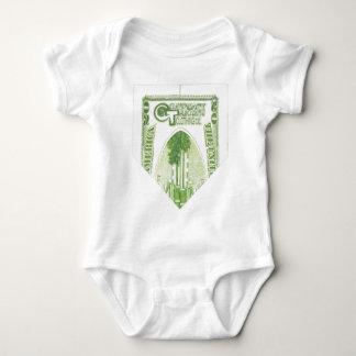 Enredadera doblada de $20 bebés body para bebé