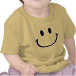 Enredadera feliz del niño de la cara camiseta