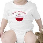 Enredadera futura de los niños de Fishermans Camiseta