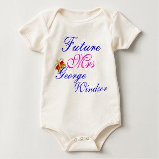 enredadera futura del bebé de la señora príncipe body para bebé