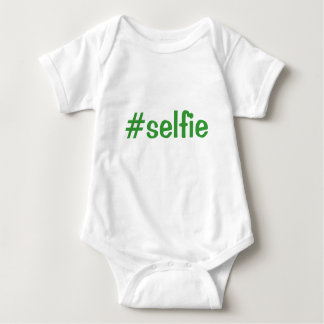 Enredadera infantil adorable del #selfie playera