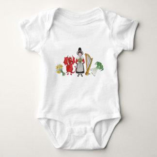 Enredadera infantil: Arpa de los puerros del Mameluco De Bebé