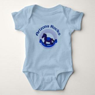 Enredadera infantil azul de las rocas de Arizona Body Para Bebé
