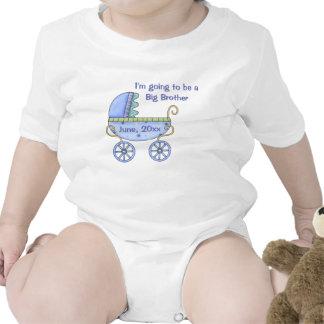 Enredadera infantil azul del carro de bebé traje de bebé
