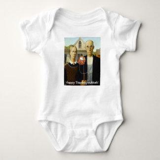 Enredadera infantil de la ropa del humor del Latke Tshirt