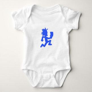 """Enredadera infantil del hombre de destral"" Body Para Bebé"