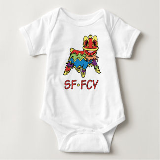 Enredadera infantil del león body para bebé