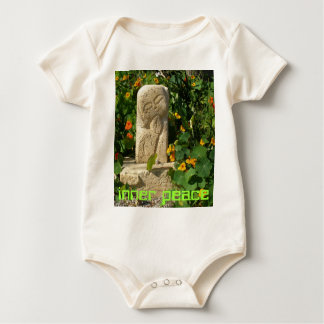 enredadera infantil del onsie de la paz interna body de bebé