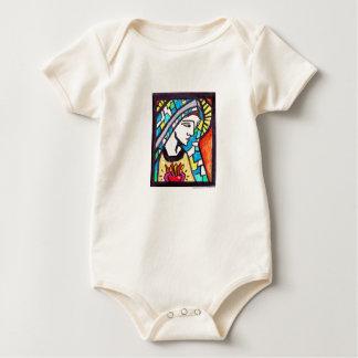Enredadera inmaculada del bebé del corazón del mameluco