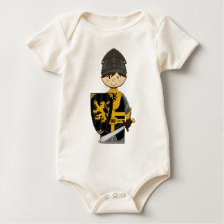 Enredadera linda del caballero negro trajes de bebé