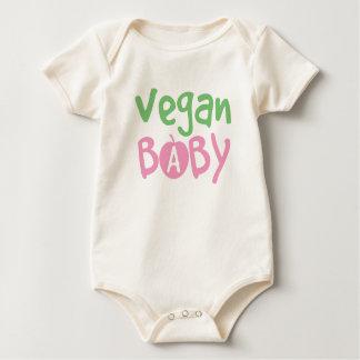 Enredadera orgánica de la niña del vegano enteritos