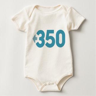 Enredadera orgánica del bebé 350 mameluco de bebé