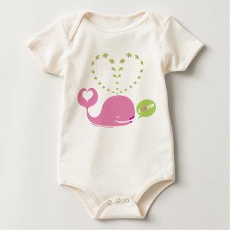 Enredadera orgánica del bebé de EveWhale Body Para Bebé