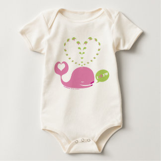 Enredadera orgánica del bebé de EveWhale Traje De Bebé