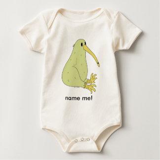 enredadera orgánica del pájaro del kiwi body para bebé