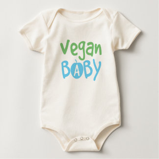 Enredadera orgánica infantil del bebé del vegano enteritos