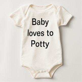 Enredadera orgánica infantil mameluco de bebé