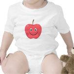 Enredadera roja del bebé del dibujo animado de la trajes de bebé