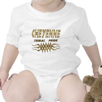 Enredadera tribal del bebé del orgullo de Cheyenne Camiseta