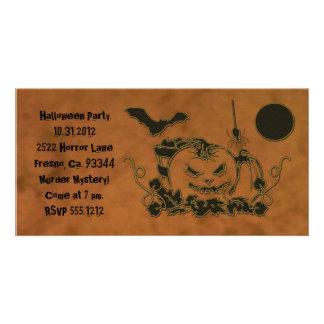 Enredaderas de Halloween Tarjetas Con Fotos Personalizadas