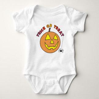 Enredaderas divertidas del bebé de la calabaza del camisas