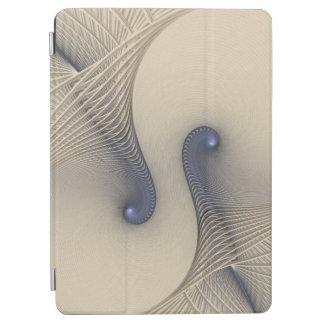 Enredado para arriba en azul cubierta de iPad air
